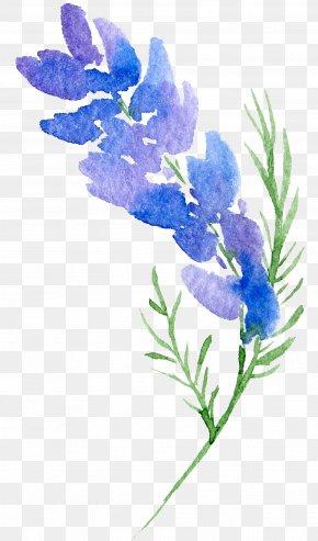 Transparent Background Floral Botanical Watercolor Flowers - Floral Design Flower Watercolor Painting PNG