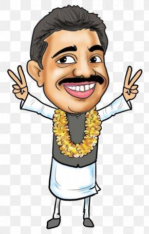 Politics - India Jayant Patil Cartoon Caricature PNG