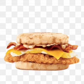 Crispy Chicken - Bacon, Egg And Cheese Sandwich Chicken Sandwich English Muffin Egg Sandwich PNG