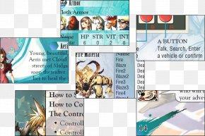 Final Fantasy 7 - Final Fantasy VI Super Nintendo Entertainment System Comics Japan PNG