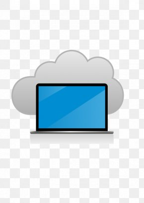 Vector Computer Cloud - Laptop Cloud Computing Euclidean Vector Computer PNG