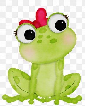 Tree Frog Animal Figure - Green Frog Cartoon True Frog Animal Figure PNG