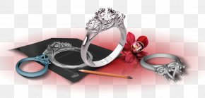 Futuristic Flyer - Jewellery Engagement Ring Jewelry Design Costume Jewelry PNG