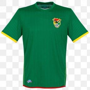 T-shirt - Bolivia National Football Team T-shirt Sports Fan Jersey PNG