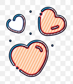 Text Heart - Heart Icon Love Icon Marriage Icon PNG