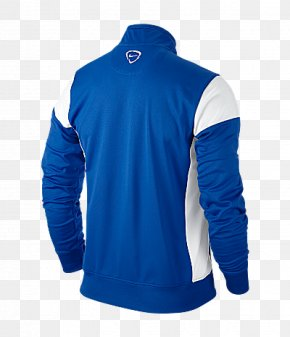 T-shirt - T-shirt Tracksuit Blue Jacket Nike PNG