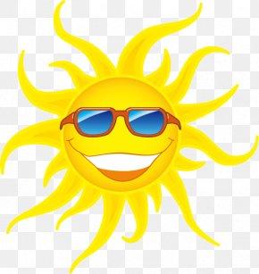Vector Cartoon Sun - Sunglasses Sunlight Clip Art PNG