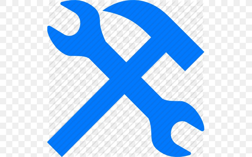 Spanners Hammer Icon Design Clip Art, PNG, 512x512px, Spanners, Adjustable Spanner, Area, Blog, Blue Download Free
