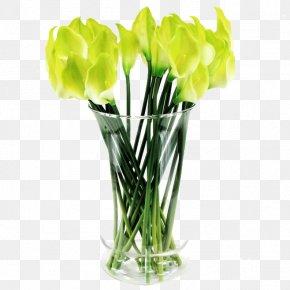 Vase - Floral Design Vase Glass PNG