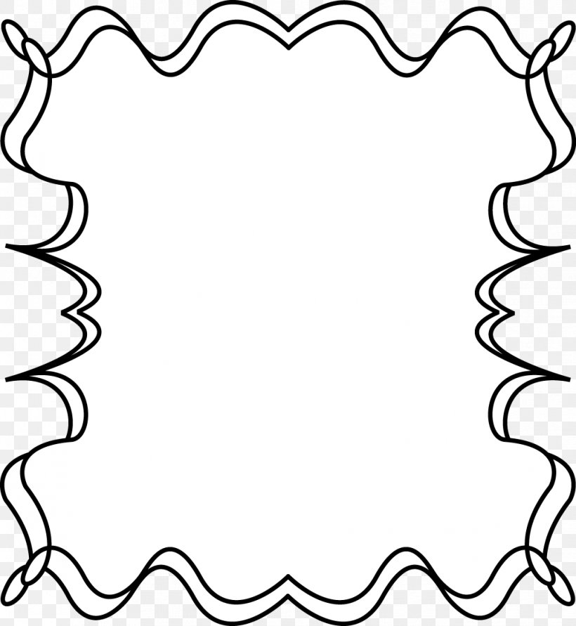 Borders And Frames Free Content Clip Art, PNG, 1019x1108px, Borders And Frames, Area, Black, Black And White, Border Download Free