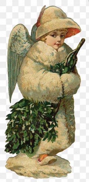 Christmas - Victorian Era Christmas Angel Animaatio Clip Art PNG
