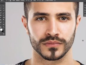 Beard And Moustache - Facial Hair Brush Tutorial PNG