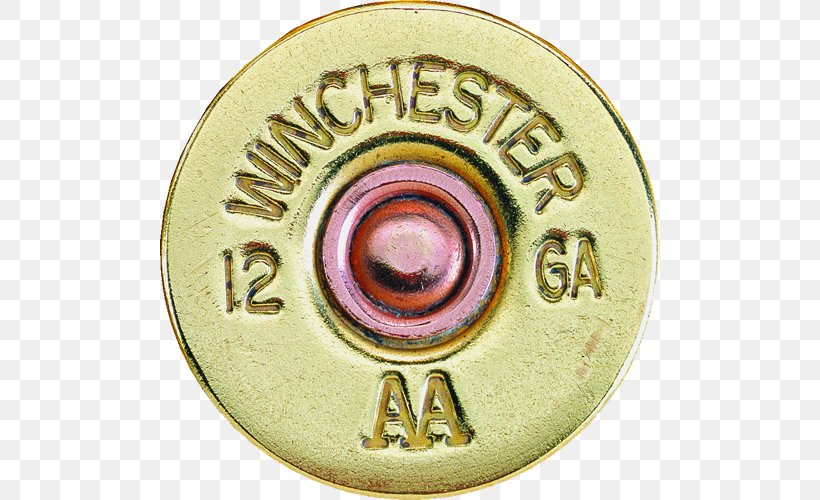 Winchester AA 12 Gauge Shotgun Shell FACTORY pin badge