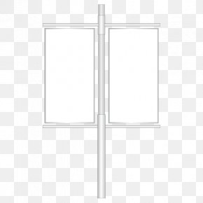Road Side Of The White Flag - Window White Structure Pattern PNG