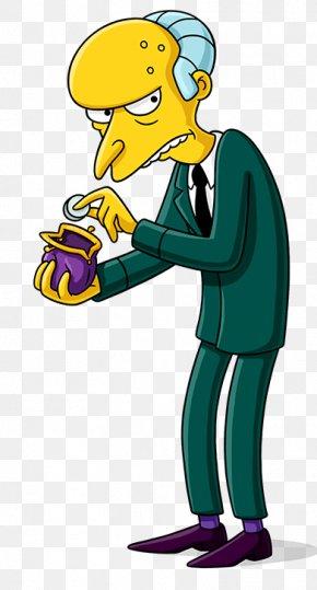 Mr. Burns - Mr. Burns Homer Simpson The Simpsons Game Ned Flanders Lisa Simpson PNG