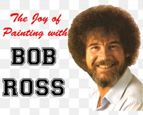 Bob Ross - The Official Bob Ross Coloring Book The Joy Of Painting Painter PNG