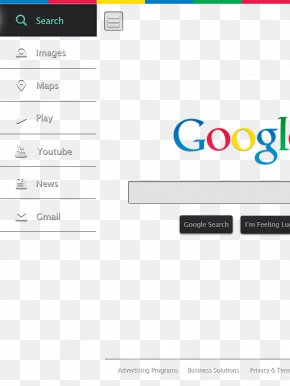 Dark Google User Interface - Google Search Search Engine User Interface PNG