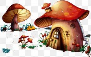 Mushroom House - Mushroom House Royalty-free Illustration PNG