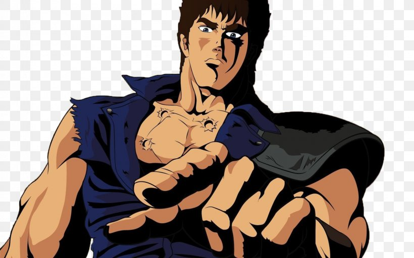 Kenshiro YouTube Anonymous Mobile Legends: Bang Bang Fist Of The North Star, PNG, 1600x1000px, Watercolor, Cartoon, Flower, Frame, Heart Download Free