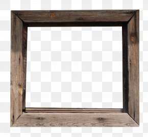 Wood Frame - Wood Picture Frame Photography PNG