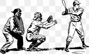 Baseball - Baseball Bat Batting Baseball Glove Clip Art PNG