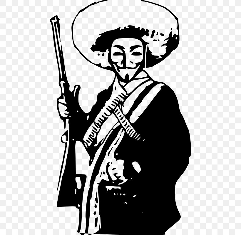 Mexico Mexican Revolution Anonymous Clip Art, PNG, 481x800px, Watercolor, Cartoon, Flower, Frame, Heart Download Free