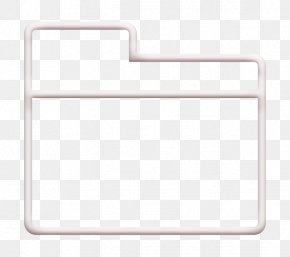 Rectangle Essential Set Icon - Folder Icon Essential Set Icon PNG