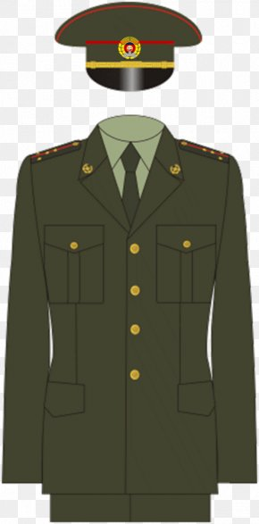 Uniform - Russia Military Uniform Army Officer PNG