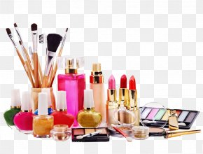 Makeup Cosmetics - Ingredients Of Cosmetics Beauty Parlour PNG