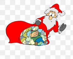 Santa Claus Vector Material - Santa Claus Christmas Ornament Clip Art PNG