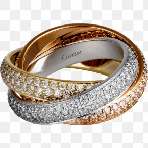 Ring - Ring Colored Gold Carat Diamond PNG