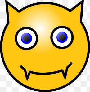 Laughing Smiley Gif - Smiley Devil Emoticon Clip Art PNG