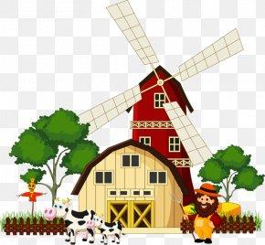Cartoon House - Cartoon Illustration PNG