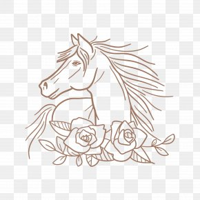 Mare Coloring Book - Wedding Love Background PNG