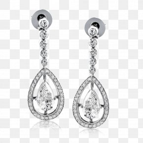 Earring - Earring Jewellery Diamond Gemstone Pearl PNG