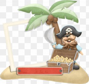 Cartoon Pirates - Piracy Picture Frame Clip Art PNG