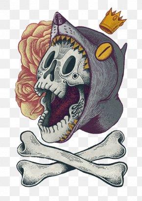 Horror Skull - Skull Calavera Illustration PNG