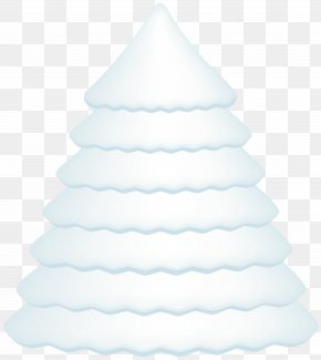 Snowy Pine Tree Transparent Clip Art Image - White Christmas Tree Christmas Day Design PNG