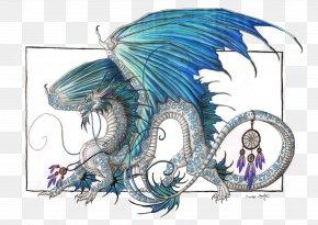 Dream Catcher - Dragon Drawing Haku Dreamcatcher PNG