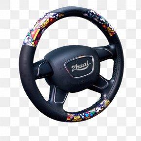 Automotive Leather Steering Wheel - Steering Wheel Diamond Rome Alloy Wheel PNG