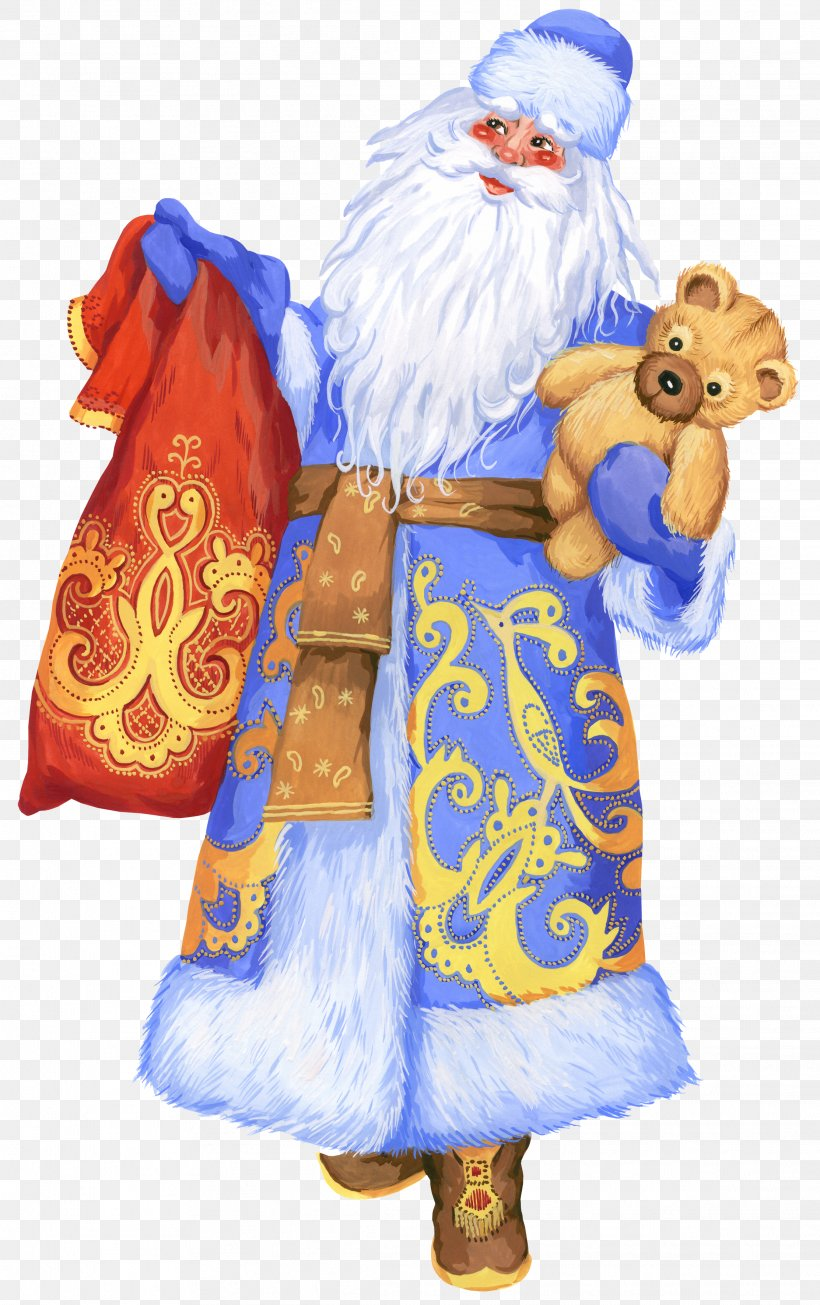 Ded Moroz Snegurochka Santa Claus Grandfather New Year, PNG, 2226x3543px, Ded Moroz, Child, Christmas, Christmas Ornament, Costume Download Free