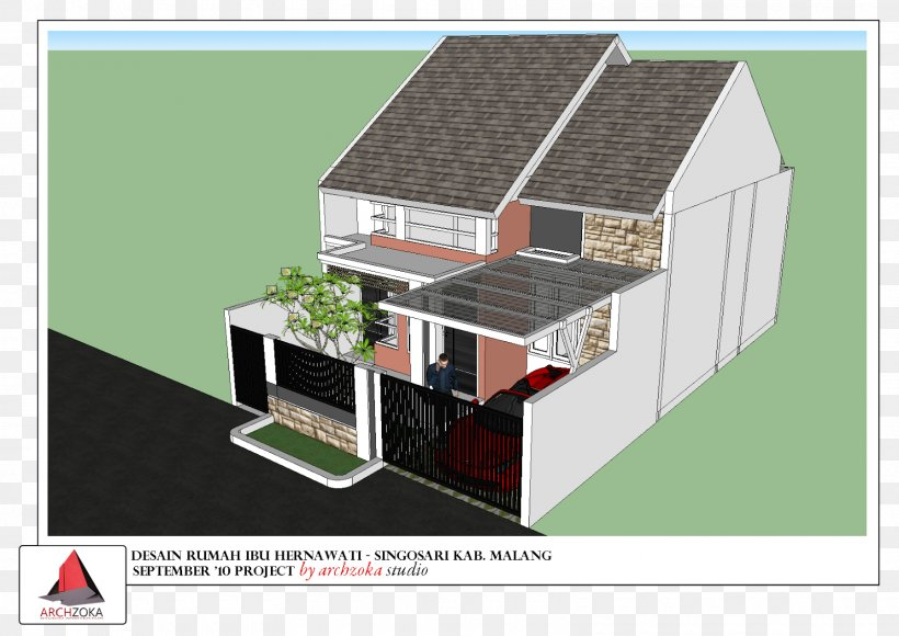 Design Services In Malang Kampung Tridi House Architecture Png 1600x1132px Kampung Tridi Architect Architecture Elevation Energy
