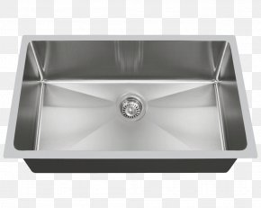 Sink - Sink MR Direct Stainless Steel Brushed Metal Tap PNG