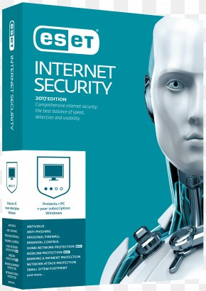 ESET Internet Security Computer Security Antivirus Software ESET NOD32 PNG