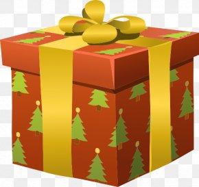 Christmas Present - Christmas Gift Birthday Clip Art PNG