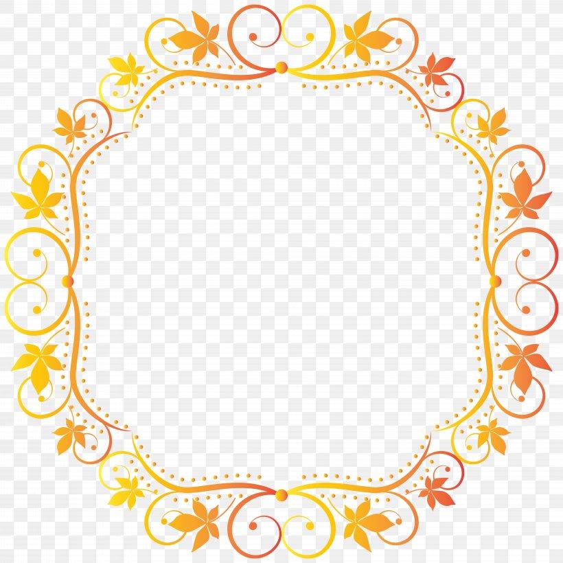 Picture Frame Clip Art, PNG, 8000x8000px, Picture Frame, Area, Autumn, Autumn Leaf Color, Color Download Free