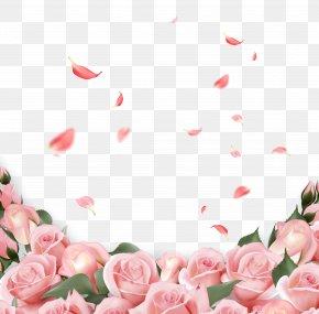 Pink Rose - Rose Flower Wedding Invitation Pink PNG