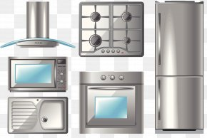 Kitchen Appliances Collection - Kitchen Home Appliance Exhaust Hood Illustration PNG