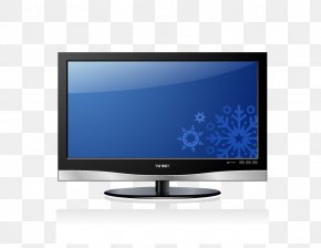 TV - LCD Television LED-backlit LCD Television Set Computer Monitor Output Device PNG