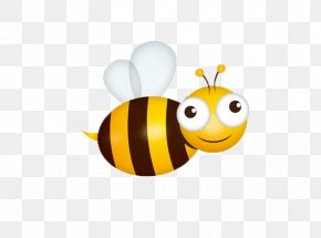 Bee - Bee Insect Drawing Illustration PNG
